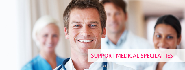 Support Medical Specialities